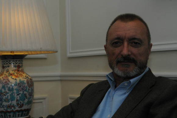 Arturo Pérez-Reverte (foto: Francisco Flores)