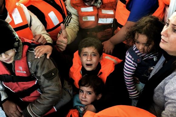 Otros dos barcos con refugiados naufragaron frente a las costas de Grecia. Foto: AFP