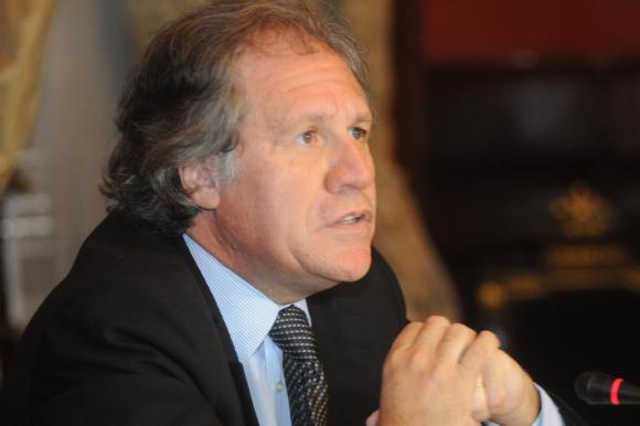 Luis Almagro. Foto: Francisco Flores
