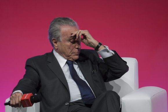 El vicepresidente brasileño, Michel Temer. Foto. EFE
