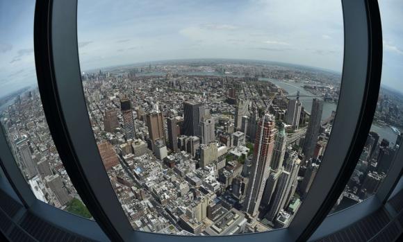 Observatorio del WTC. Foto: AFP