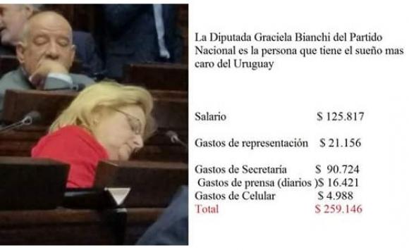 La foto que provocó el enojo de la legisladora nacionalista