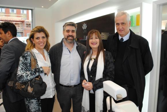 Karina Porteiro, Javier Rodríguez, Giselle Grunullu, Diego Añón.