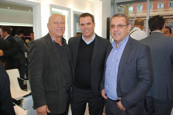 José Vaccaro, Favio Fernández, Ricardo Gutiérrez.