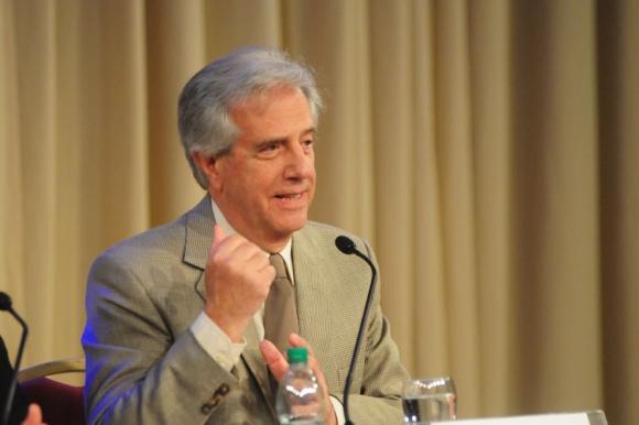 Tabaré Vázquez. Foto: Marcelo Bonjour
