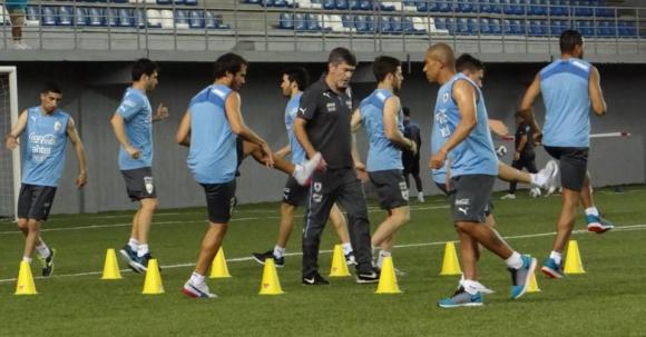 Foto: AUF - Selección Uruguaya de Fútbol.