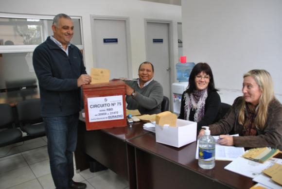 Martín Tierno candidato a intendente de Durazno por el MPP. Foto: Víctor Rodríguez