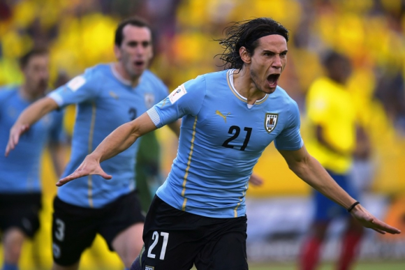 Las imágenes de Ecuador-Uruguay. Foto:AFP/EFE/Reuters.