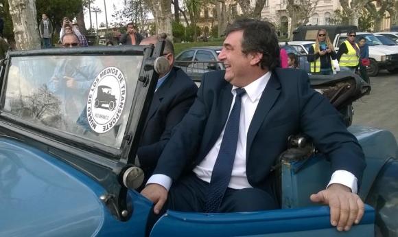 Sergio Botana asumió en el departamento de Cerro Largo. Foto: N. Araújo
