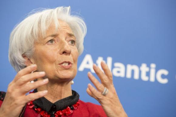 Christine Lagarde, directora del FMI. Foto: Reuters