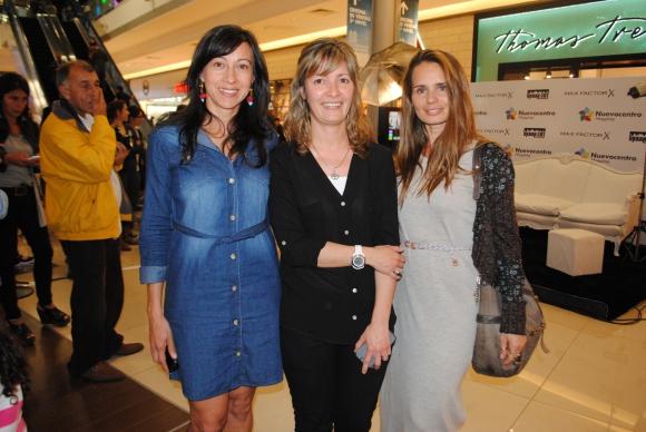 Andrea Dorado, Alejandra Huelmo, Rosiete Torres.