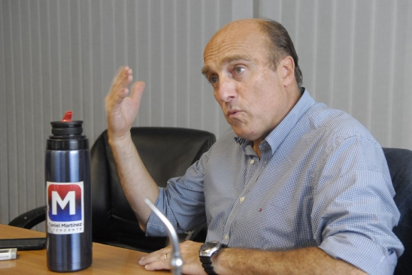 Daniel Martínez, candidato a intendente de Montevideo. Foto: Archivo de El País.
