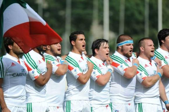 Los Teros vs. Italia Emergenti. Foto: Facebook Oficial Georgian Rugby Union