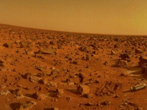Así es el territorio de Marte que es explorado.