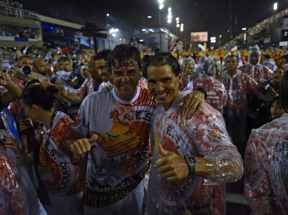 Carnaval de Rio deJaneiro 2015. Foto: AFP