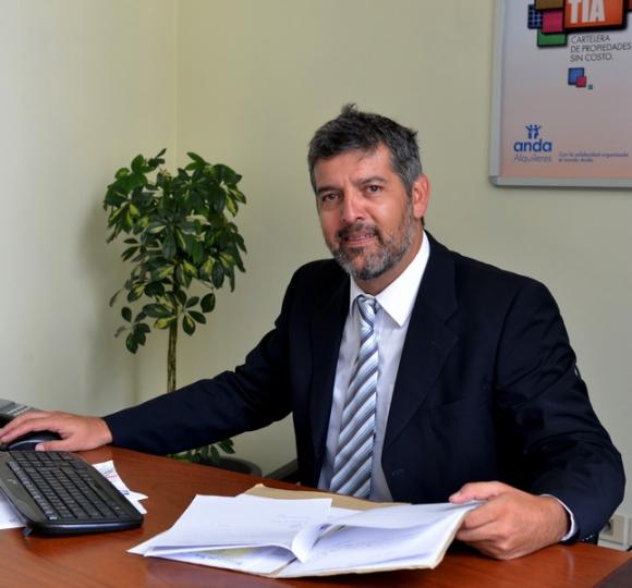 Flavio Porras, director de la división Alquileres.
