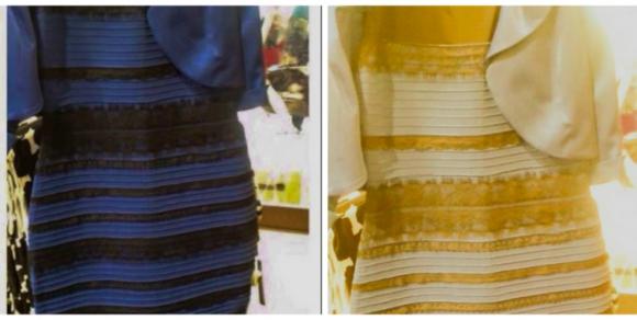 El Vestido Era Blanco Y Dorado O Negro Y Azul La Ciencia