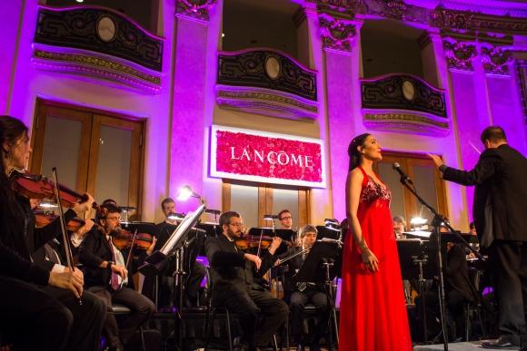 Lancome celebró sus 80 años. Hugo Riva, Josefina Valenti, Magdalena Mántaras y Mariana Almirón