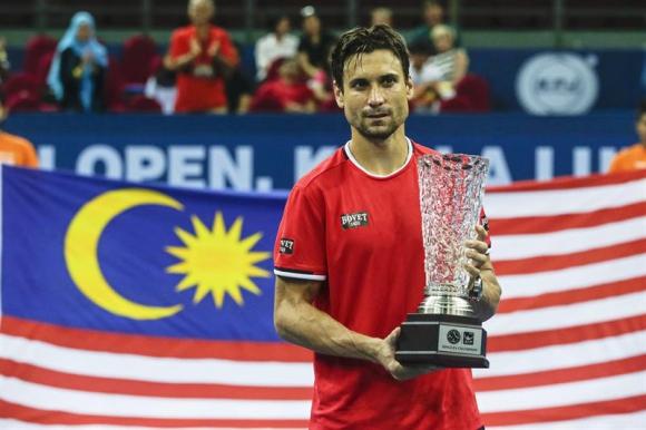 David Ferrer campeóne en Kuala Lumpur