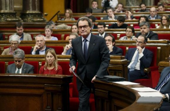Entre hoy y el jueves el Parlamento catalán debe definir nuevo presidente de la región. Foto: Reuters.