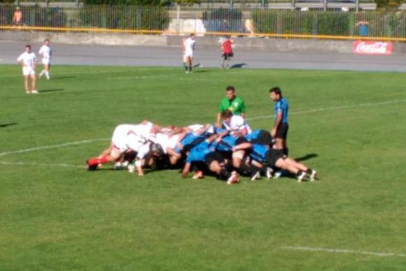 Los Teros vencieron a Euskarians 41-19 en su partido de preparación para el mundial. Foto: @RugbyUruguay