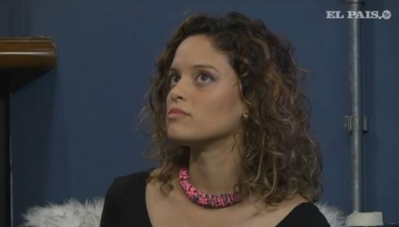Inés Pereyra en El País.TV. Foto: captura