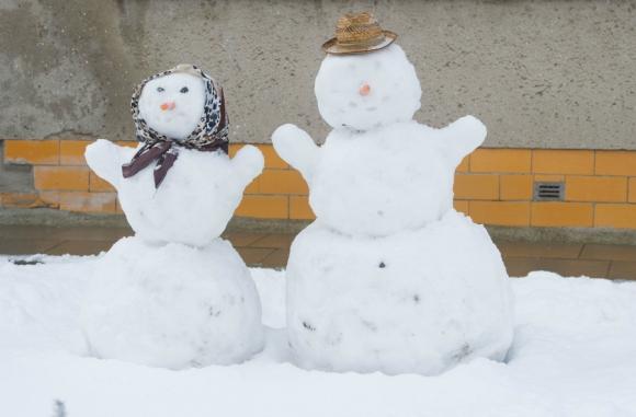 La intensa nevada en Alemania también sirve para los tradicionales