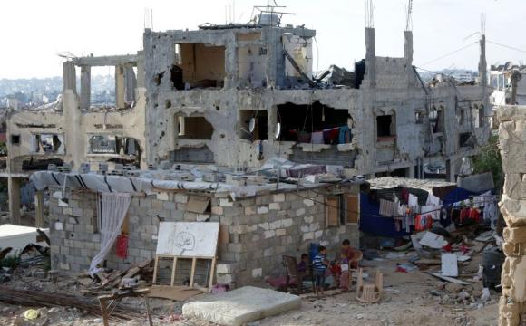 Tras 50 días de guerra entre Israel y Hamas el enclave palestino quedó reducido a ruinas.