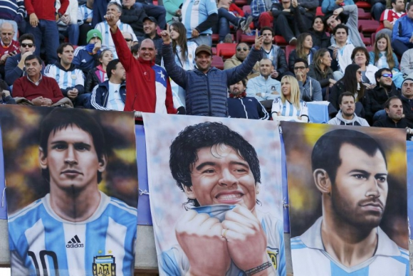Los hinchas más divertidos de la Copa América. Foto: REUTERS
