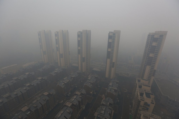 Edificios de apartamentos en la ciudad china de Shenyang. Foto: REUTERS
