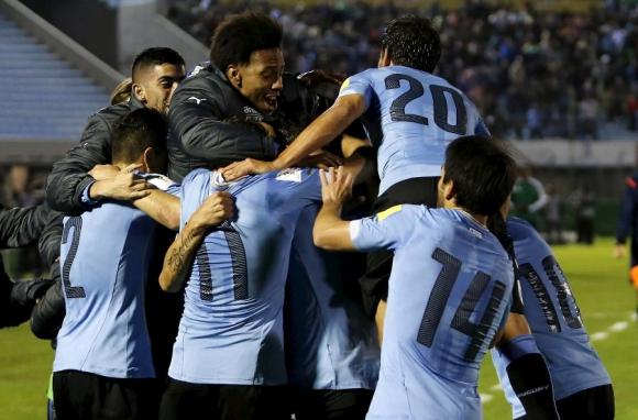 Uruguay - Colombia. Foto: Reuters