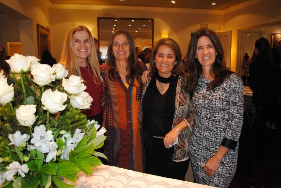 Elena Rico,Victoria Crambauer, Mercedes Alegresa, Pilar Alonso.