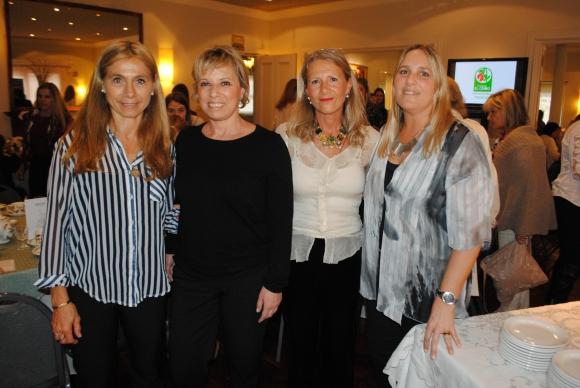 Laura Mermot, Heidi Salkin, Laurita Fernández, Magdalena Podestá.