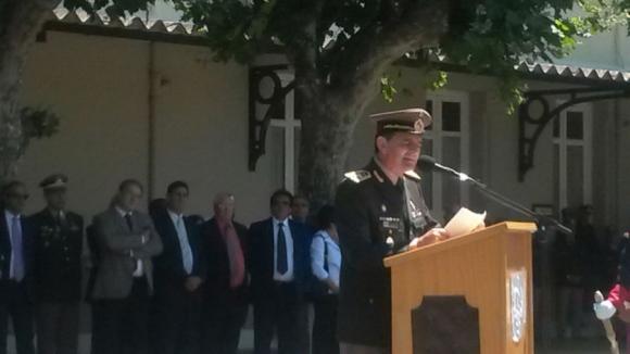 Asumió el comandante en jefe del Ejército, Guido Manini Ríos. Foto: Valeria Gil