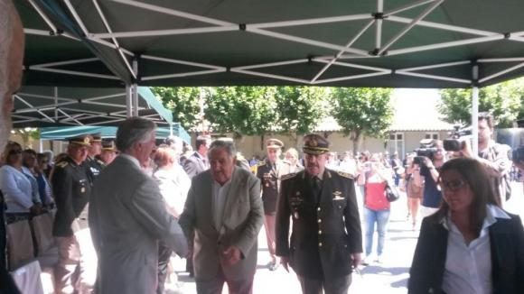 Acto de asunción del nuevo comandante en jefe del Ejército. Foto: Valeria Gil