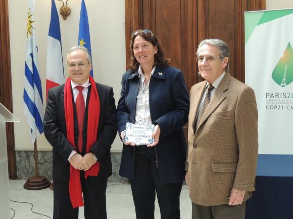 Sylvain Itté, Isabel Chiarino, Robert Miles.