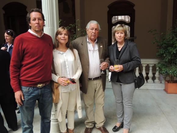 Horacio Bianchi, María Eugenia Gómez, Horacio Bianchi, Alicia Pol.