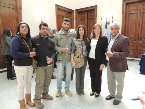 Lanny Moreira, Gerardo Alvariza, Carlos Rey, Magela Michaus, Silvana Dotta, Fredy Hernández.