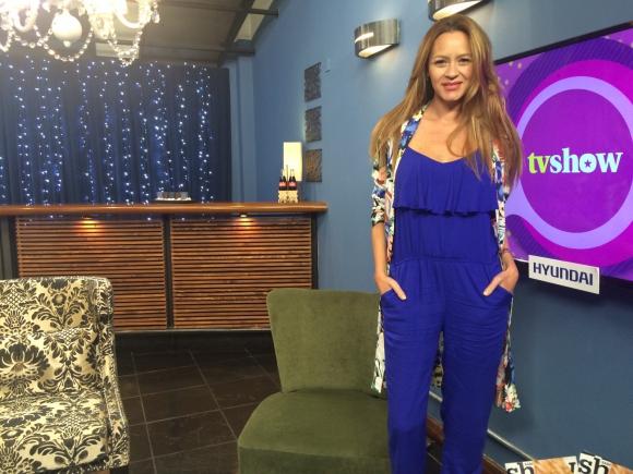 Claudia Galván en Tv Show