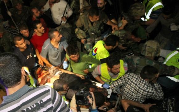 Decenas de personas murieron por el doble atentado. Foto: AFP