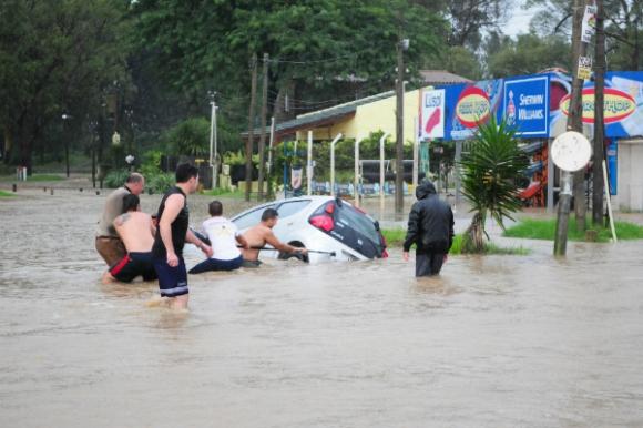 Inundaciones, un problema que se repite cada vez con mayor frecuencia.