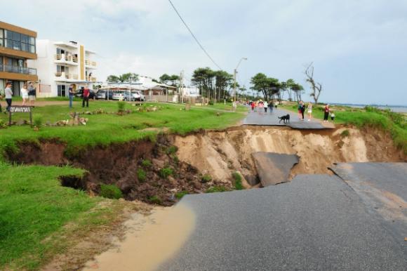 Destrucción en las zonas costeras (Foto: Marcelo Bonjour)