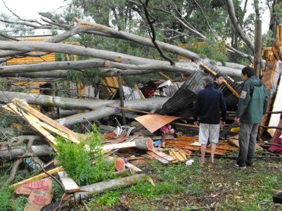 Son frecuentes los daños a la propiedad.