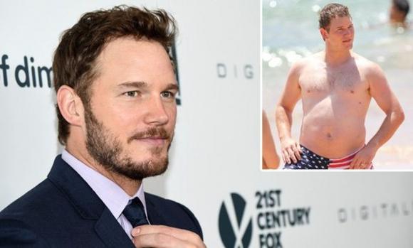 el actor chris pratt contó cómo logró librarse del sobrepeso vida