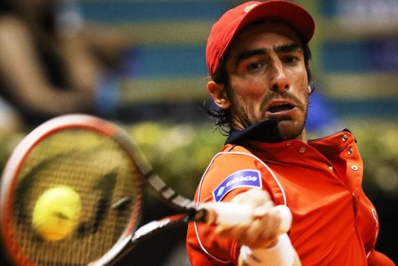 Pablo Cuevas. El salteño buscará hoy su segundo triunfo en singles, en Río. Foto: EFE