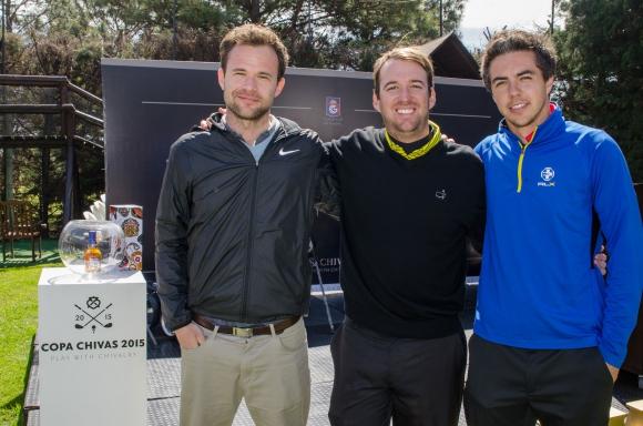 Juan Ignacio Belile, Pablo Carrere, Nicolás Triburcio.