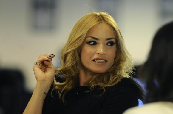 Claudia Fernández en Encuentros en El País. Foto: Darwin Borrelli