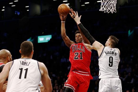 Butler aportó 24 puntos para los Bulls. Foto: AFP