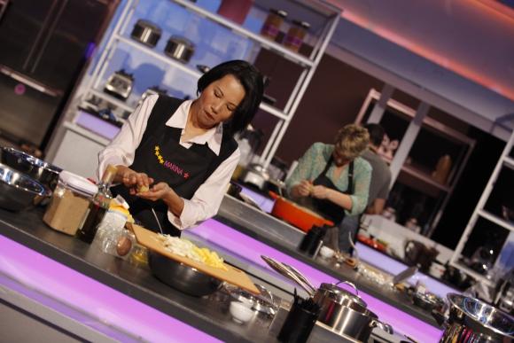 Los participantes de <i>The Taste</i> en acción.