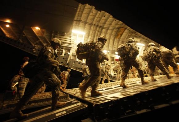 Las tropas de elite que despliega EE.UU. combatirán sobre el terreno.